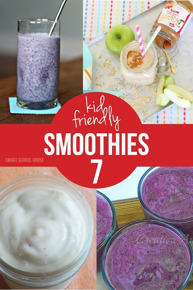 Kid Friendly Smoothie Recipes - If you have a little one that doesn ...