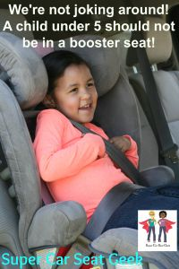 boosters are for big kids car seat