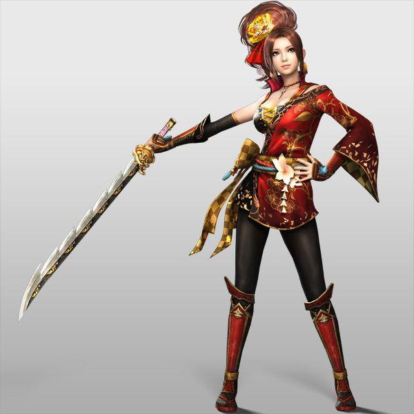 [拡大画像] PS3/PS Vita「戦国無双4」キャラクター紹介など - GAME Watch