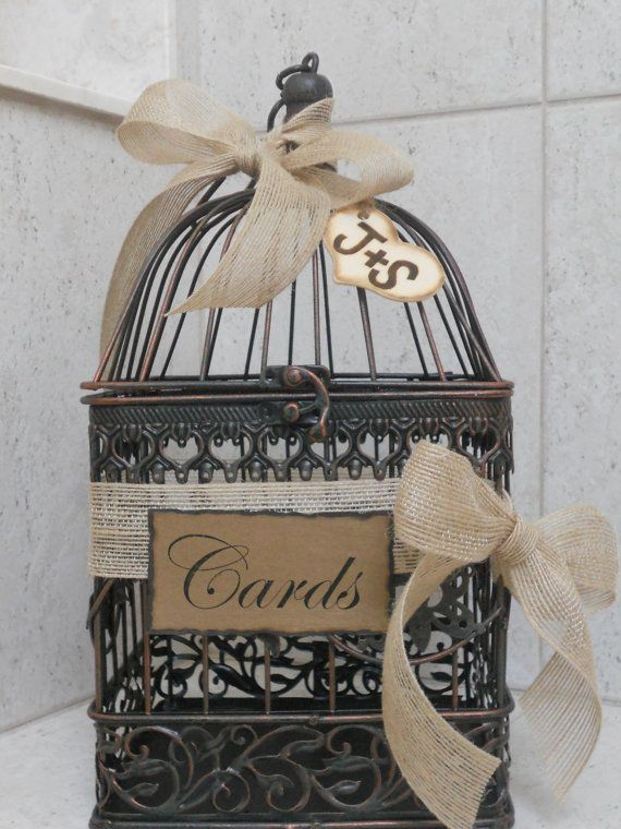 Best 25 Birdcage card holders ideas – Birdcage Wedding Card Box