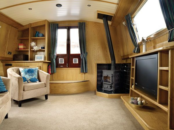 31 Best Cool Canal Boat Interiors Images On Pinterest