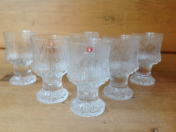 Vintage Iittala Ultima Thule Footed by TheTravelingTwins on Etsy