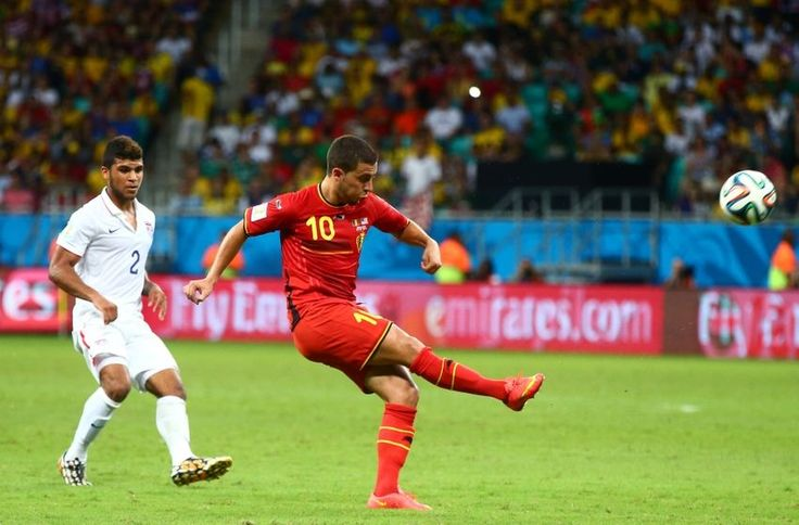 Chelsea FC On Duty: Eden Hazard Bags Another For Belgium