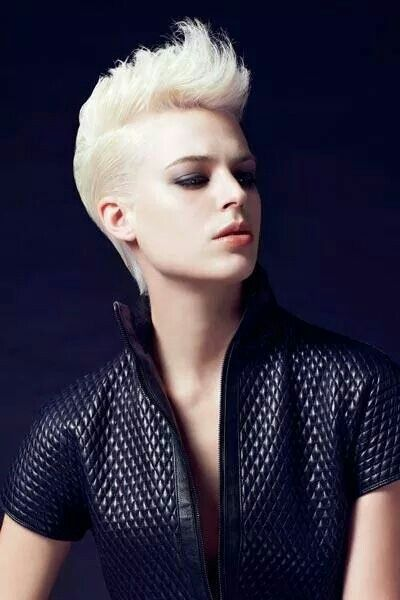 30 best Half Side Shaved Hairstyles images on Pinterest ...