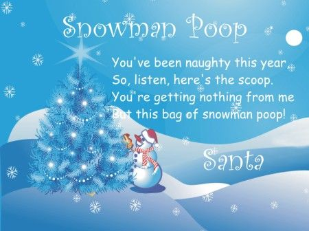 Snowman poop, Snowman soup poem and Snowman soup on Pinterest