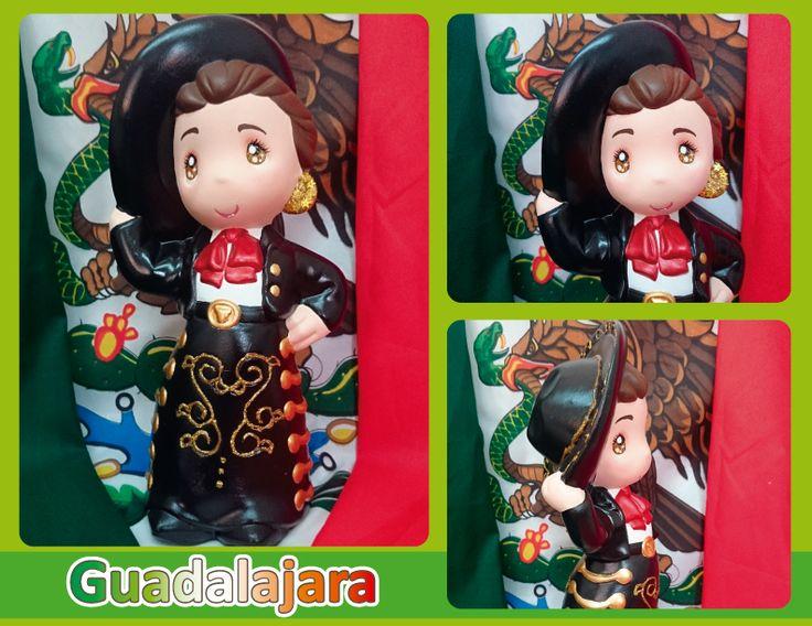 Traje típico de Guadalajara (Charro) -  Guadalajara regional costume