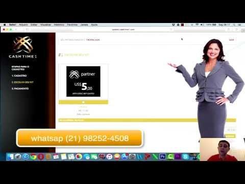 Como Fazer seu Cadastro na Cash Time 1 | OPORTUNIDADE DE GANHAR DINHEIRO NA INTERNET