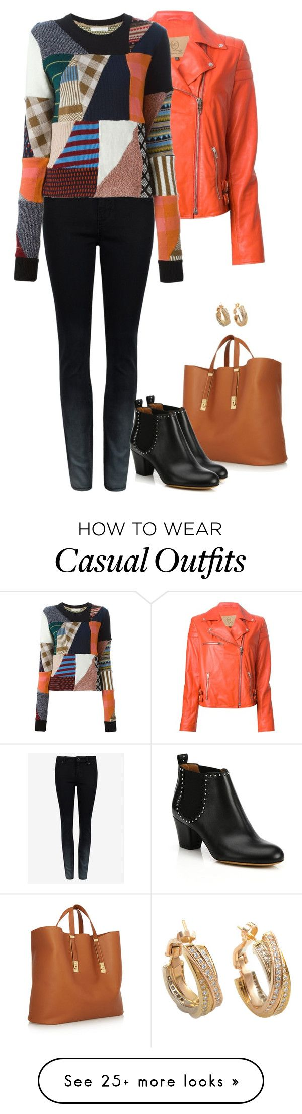 """Casual Elegance DCXXIV"" by gatbar on Polyvore featuring McQ by Alexander McQueen, Sophie Hulme, Ted Baker, Chloé and Givenchy"