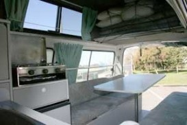 Tasmania Campers AU Trail Finder: 2-3 Berth Hi Top australia campervan hire