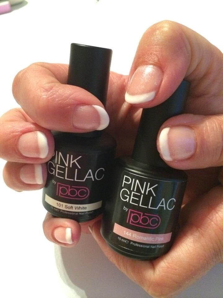 Ook zelf French Manicure aanbrengen en weken genieten? http://www.pinkgellac.nl/pink-gellac-shop/starter-sets/pink-gellac-french-manicure-set French manicure + Romantic Pink