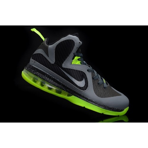 Nike LeBron IX 9 Womens Basketball Shoes Volt Green Grey Black