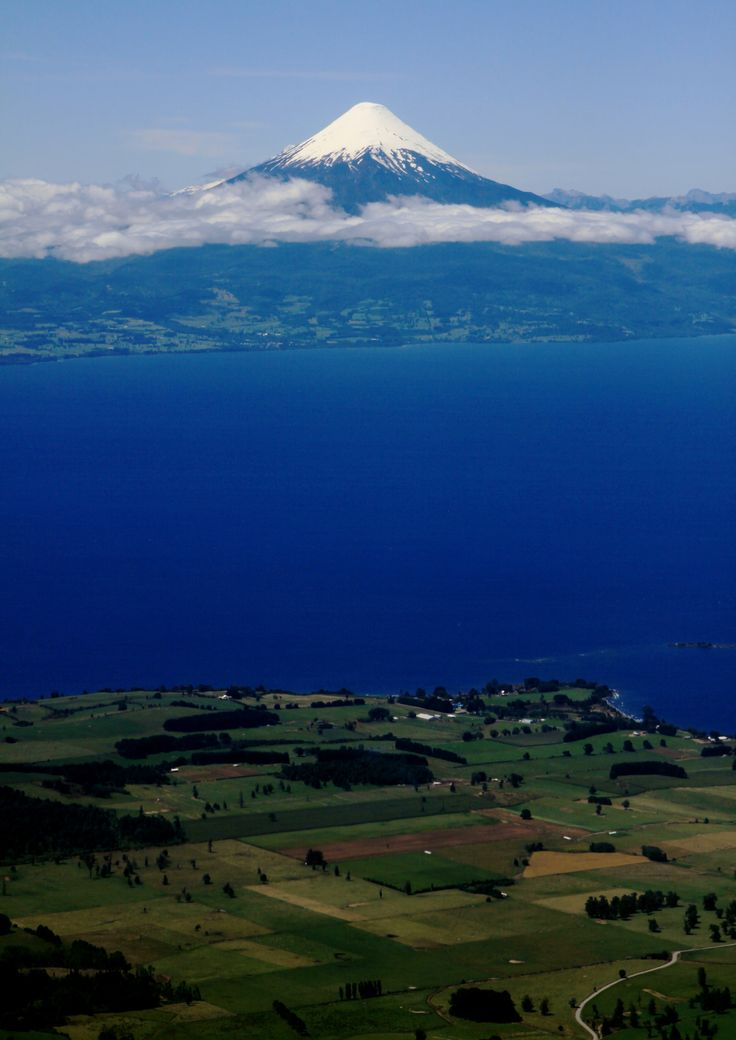 Volcan Osorno with Lago Llanquihue / Chile (by Piotr...  #travel #photography #discover