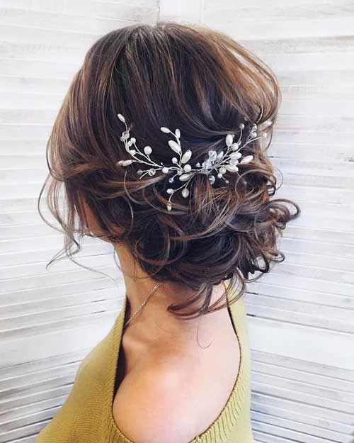 10.Hochzeit-Frisur-2018 – Kurze Frisurenhaare