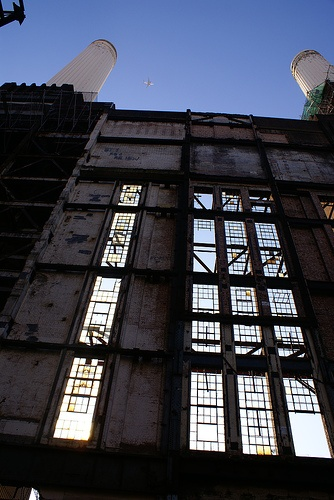 Get to see inside Battersea Power Station...