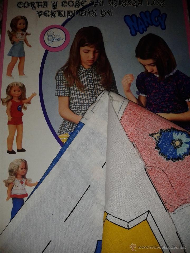 El auténtico corta y cose de Nancy de Famosa.Sirven de patrones.