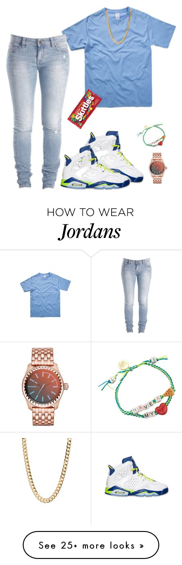 """Untitled #233"" by destinygotem on Polyvore featuring moda, Retrò, Venessa Arizaga, Diesel y CO"