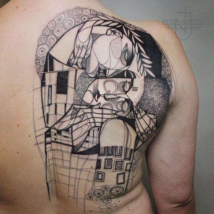 10 Gustav Klimt Tattoos For Art Lovers
