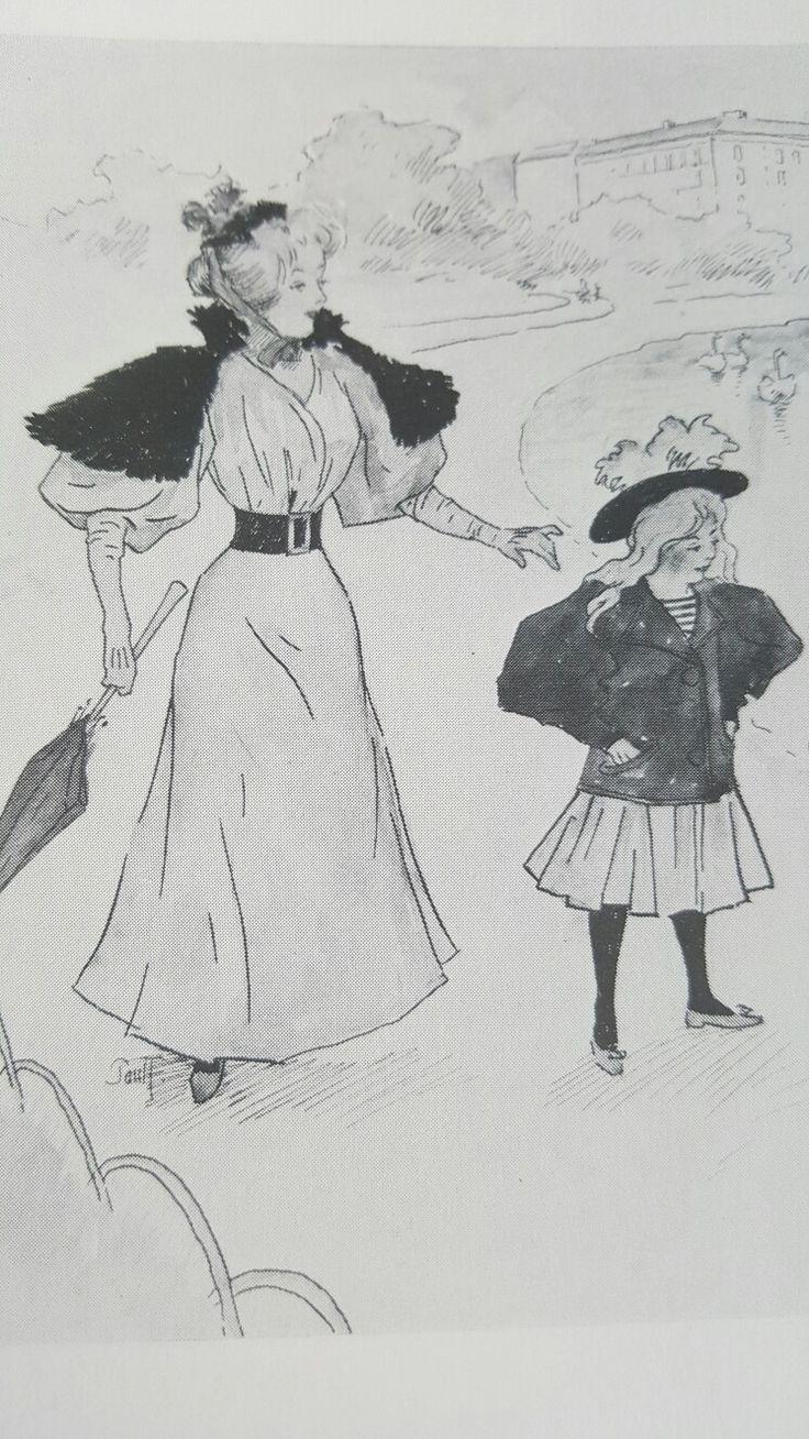 Paul Fischer Tegning fra Klods Hans