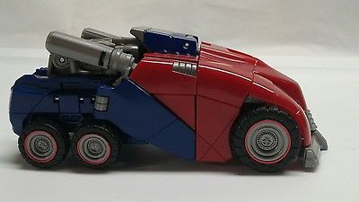 Hasbro Transformers Generations Cybertronian Optimus Prime Incomplete #50