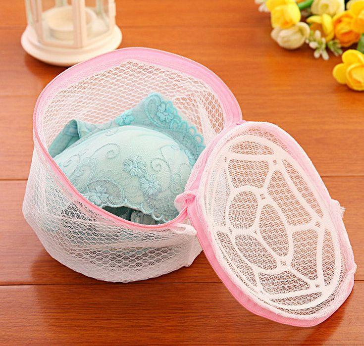 Lingerie Washing Home Use Mesh Clothing Underwear Organizer Washing Basket Cleaning Neatening Storage Laundry Foldable modern