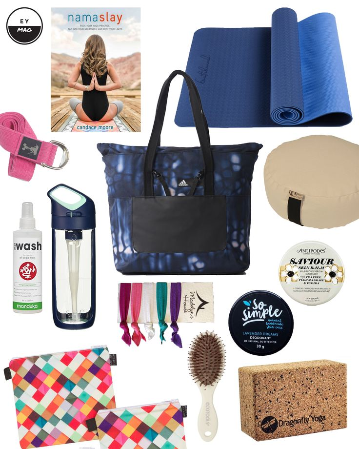 ACTIVE ACCESSORIES: YOGA BAG ESSENTIALS