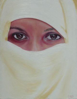 Beauty Beyond the Veil - WetCanvas