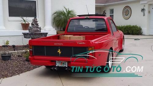 mẫu bán tải đầu tiên mang dấu ấn Ferrari đã chào đời với tên gọi Truckstarossa