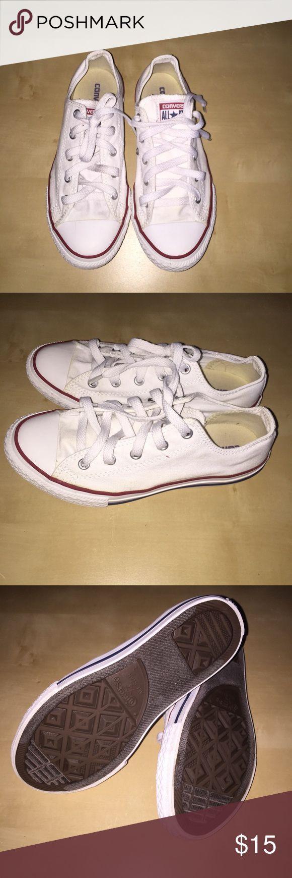 Converse all start White converse Men size 3 women 6 Converse Shoes Sneakers