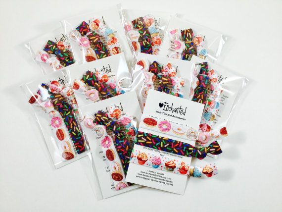 Sweet Treats Inspired Birthday Party Pack for by EnchantedHairTies