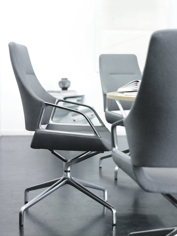 GRAPH grey conference chair | Design by jehs + laub | By Wilkhahn | #graph