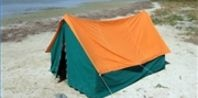 How to Clean Mildew Off of a Waterproof Tent