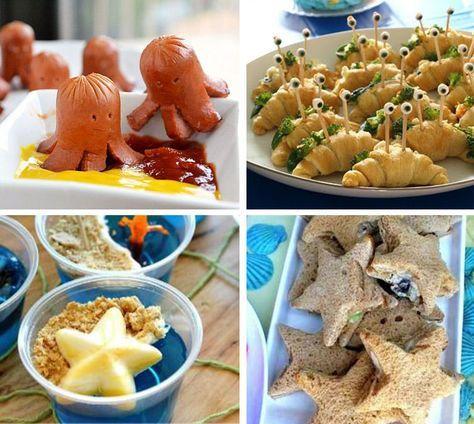 Ideias para Festa Fundo do Mar | Como Fazer Festas