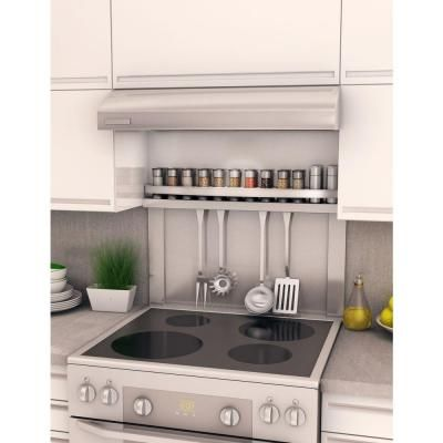 Inoxia Bacsplashe Spicy 30 In X 30 In Stainless Steel Backsplash Bssp S At The Home Depot