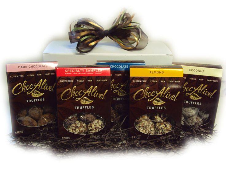 Raw Chocolate Truffles Gift Box