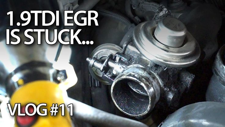 1.9TDI #EGR valve is stuck. I failed. #cars #maintenance #seat #vw #volkswagen #skoda #audi #tdi #diesel