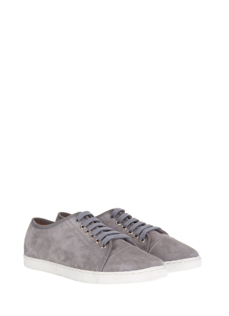The Mint Velvet 'taupe suede plimsoll' she is *thought* to have worn