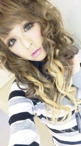 fake eyelashes for gyaru makeup | which 'gyaru style' on lovster's Blog - Buzznet