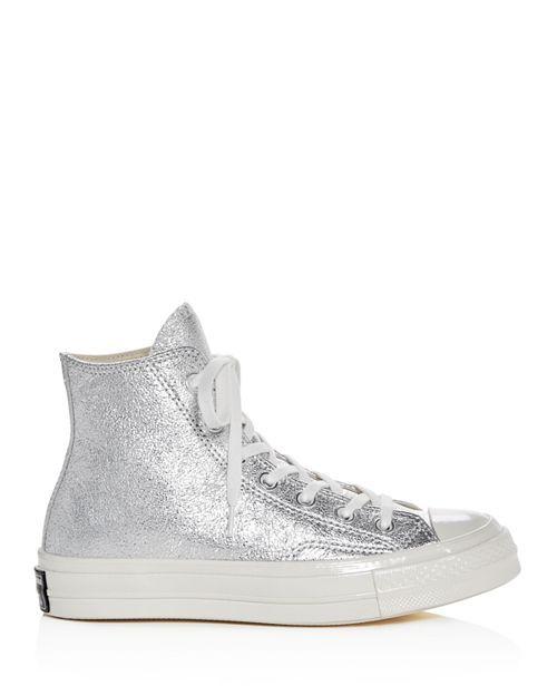 64460fd53222 Converse - Women s Chuck Taylor All Star 70 Metallic High Top Sneakers