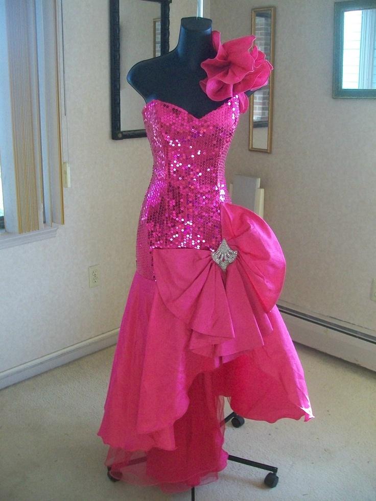 80\'s Prom Dress | Tacky or Tasteful? | Pinterest