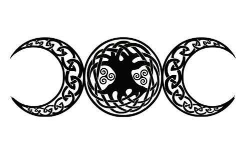 wiccan triple goddess tattoo hooray tattoos celtic wiccan tree of life celtic. Black Bedroom Furniture Sets. Home Design Ideas