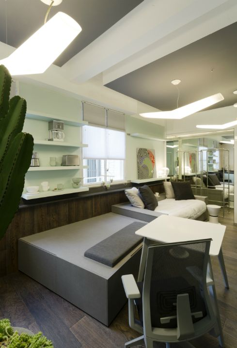 Diseño de interiores en Casa FOA – Home Office – Arquitecta Angélica Campi