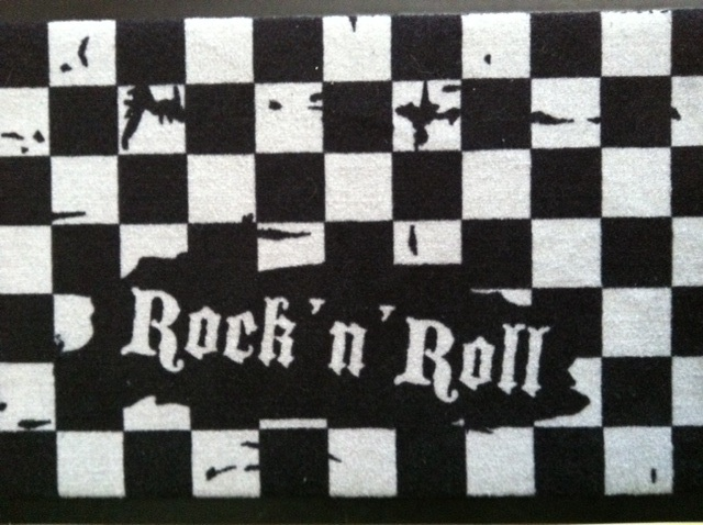 Rock 'n Roll doormat! Bought from: http://www.emp.fi/