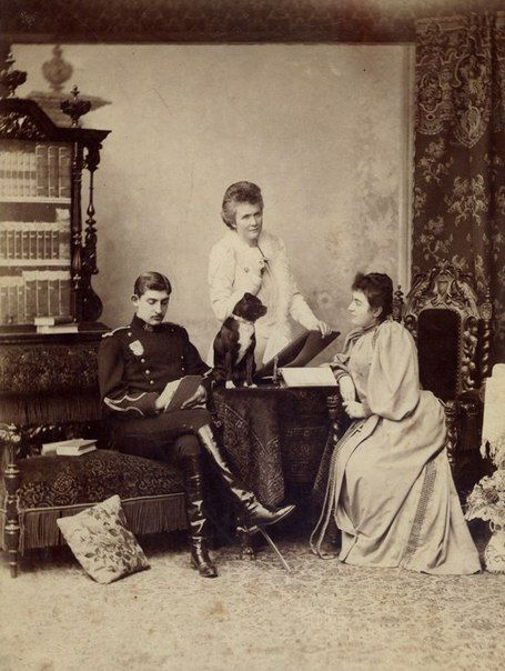 Elisabeth with Ferdinand