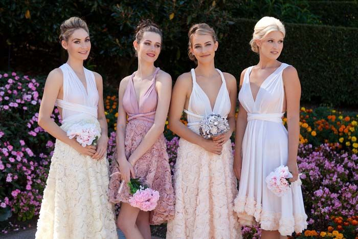 Goddess by Nature Bridesmaids Gowns
