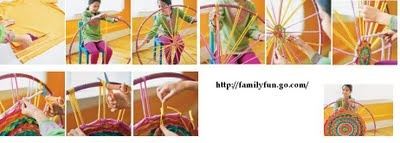 Alfombra hula hoop