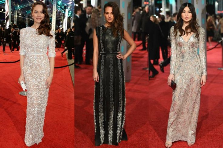 BAFTAS 2016 Top 10 Best Dressed