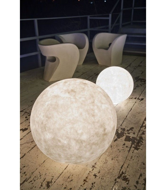 In-es.artdesign - Lampada da esterno Ex moon - Elite Made in Italy #inesartdesign #artdesign #nebulite #design #lamp #madeinitaly #outdoor #floorlamp #moon #moonlight
