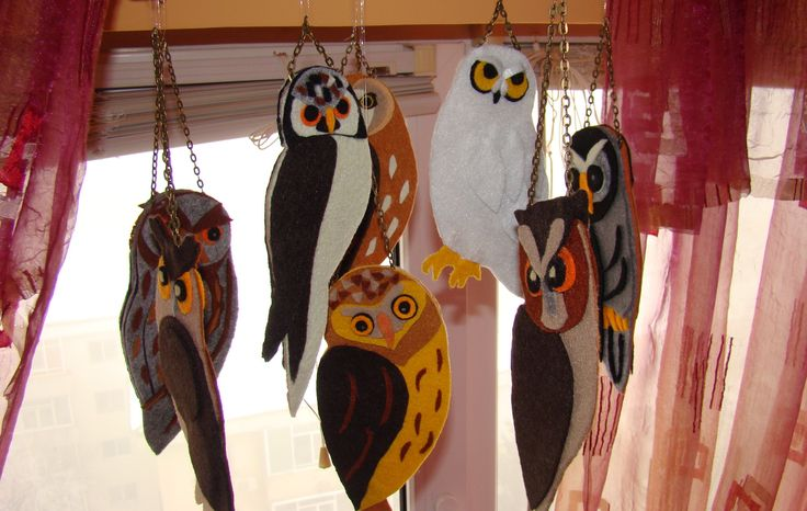 Owl chandelier, candelabrul cu bufnițe