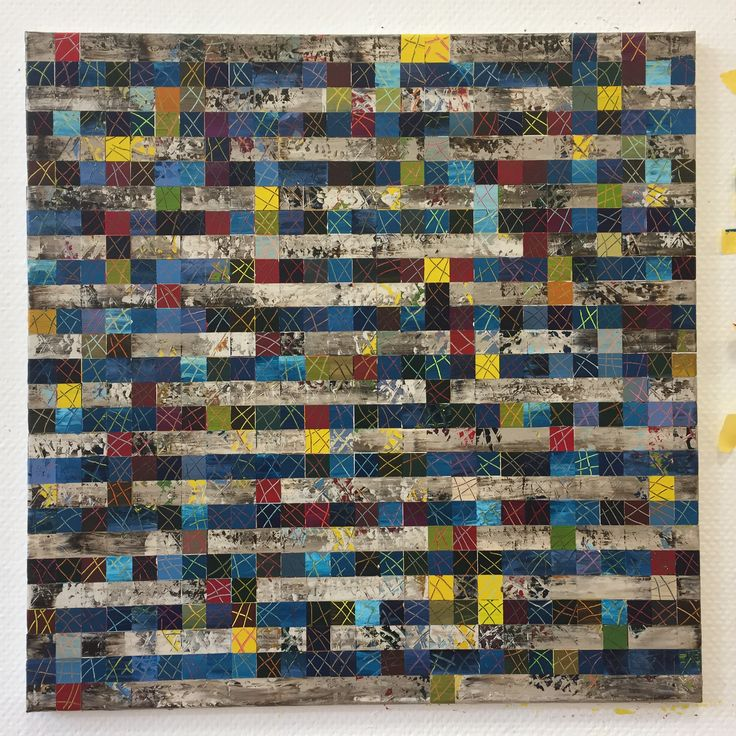 Acryl auf Leinwand, 80x80