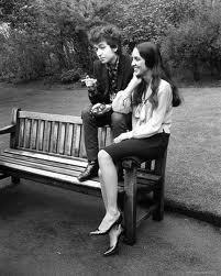 With Joan Beaz